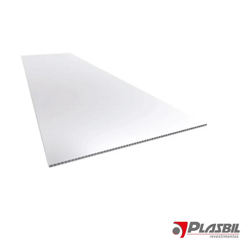 PLACA MODULAR 1,245M X 0,618M - BRANCO - CX C/ 13PÇ - PLASBIL